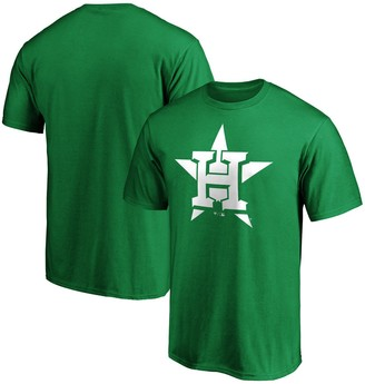Men's Fanatics Branded Kelly Green Houston Astros St. Patrick's Day Logo T-Shirt