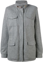 Loro Piana multi-pockets short coat