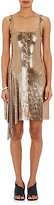 Paco Rabanne Women's Lace-Up Chain-Mail Tank Dress-GOLD