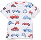 Chicco Baby Girls' 09061980000000 T-Shirt, Bianco (White and Red)