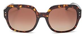 Tory Burch Women's Oversized Square Sunglasses, 56mm