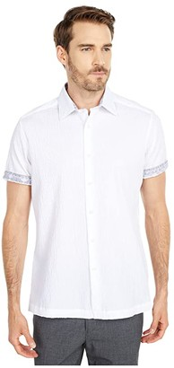Robert Graham Lazarus Button-Up Shirt (Multi) Men's Short Sleeve Button Up