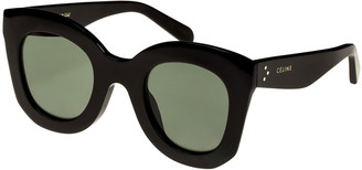 Celine Chunky Round Acetate Sunglasses