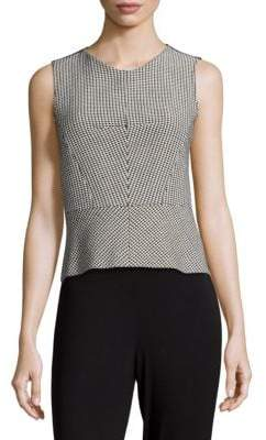 Derek Lam Cropped Shell Top