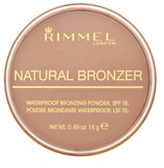 Rimmel Natural Bronzer Waterproof Bronzing Powder SPF 15 - Sun Light 14g