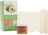 Moom Organic Hair removal Kit with Avocado for Face and Eyebrows