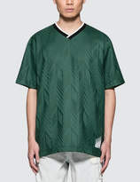 Alexander Wang Custom Wool Jacquard Soccer Polo Shirt