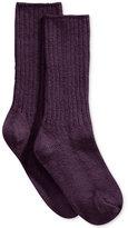 Hue Women's Ribbed Boot Socks