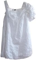 Fendi White Linen Dress