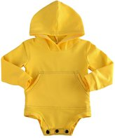Imcute Toddler Baby Boys Girls Long Sleeve Hoodies Top Romper Outfit With Pocket (12-18 Months, )