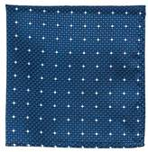 The Tie Bar Vinyl Dots 100% Woven Silk Pocket Square