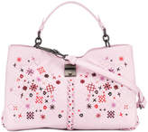 Bottega Veneta Intrecciato botanic embroidered handbag