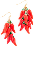 Kate Spade Pepper Statement Earrings