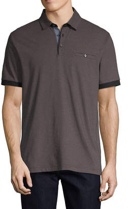 Claiborne Short Sleeve Jersey Polo