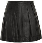 Rebecca Taylor Full leather mini skirt
