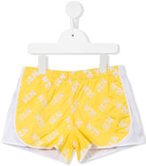 No21 Kids bicolour shorts