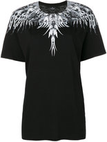 Marcelo Burlon County of Milan graphic print T-shirt - women - Cotton - XS