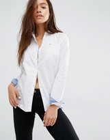 Tommy Hilfiger Pinstipe Relaxed Shirt