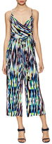 Plenty by Tracy Reese Surplice Print Wrapped Jumpsuit