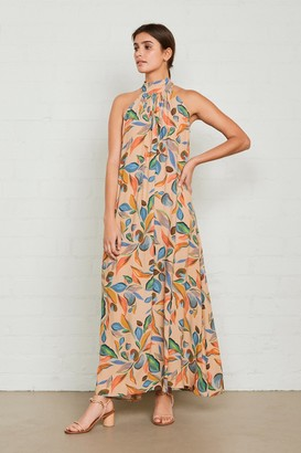 Rachel Pally Crepe Lotus Dress