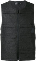 Letasca - denim vest - men - Cotton - S