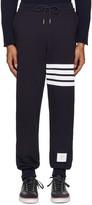 Thom Browne Navy Classic Lounge Pants
