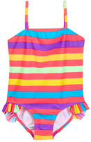 KensieGirl Striped One Piece (Little Girls)