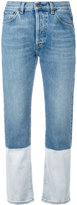 Ports 1961 bootcut cropped jeans - women - Cotton - 25