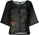 Mini Market Minimarket - Suffix blouse - women - Polyester - 34