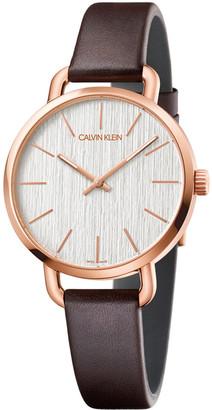 Calvin Klein Women's Even Watch