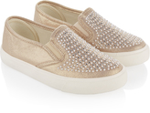 Monsoon Embellished Pearl and Diamante Pumps