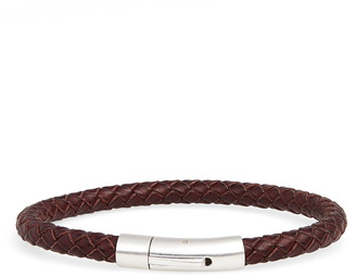 Nordstrom Braided Leather Bracelet