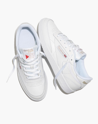 Madewell Reebok Club C 85 Lace-Up Sneakers