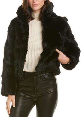Adrienne Landau Fuzzy Jacket