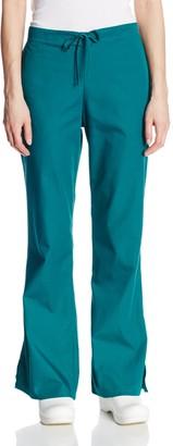 Cherokee Women's Tall Workwear Scrubs Flare-Leg Drawstring Pant