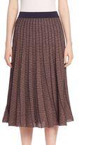 Tanya Taylor Metallic Josie Skirt