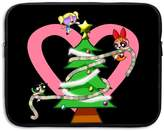 MICOVE THE POWERPUFF GIRLS Christmas Briefcase Handbag Case Cover For 13- Laptop, Notebook, MacBook Air/Pro,Christmas Gift