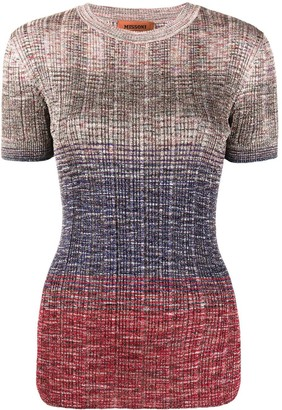 Missoni Knitted Crew Neck Top