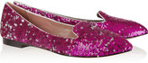 Jean-Michel Cazabat Jean Michel Cazabat Vanity sequined leather loafers