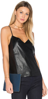 Blaque Label Faux Leather Cami