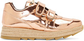Stella McCartney Copper Velcro Macy Sneakers