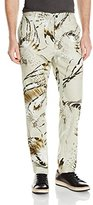 Just Cavalli Men's Carribean Tales Printed Cotton Pants