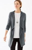 J. Jill Pure Jill Luxe Tencel® Hooded Jacket