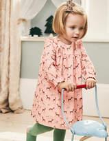 Boden Patterned Ruffle Dress