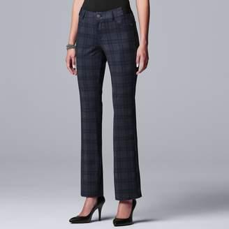 Vera Wang Women's Simply Vera 5-pocket Ponte Bootcut Pants