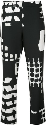 Natori Printed Crop Trousers