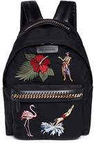 Stella McCartney 'Falabella Go' appliqué nylon backpack