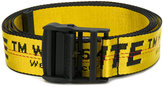 Off-White logo embroidered belt - women - Nylon/Polyester - One Size