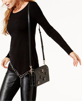 INC International Concepts Petite Embellished-Hem Tunic Sweater, Created for Macy's