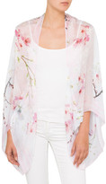 Ted Baker Oriental Blossom Cape Scarf